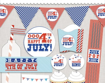 d.i.y. 4th of July Printable Party