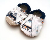 teepee baby shoes teepee booties soft sole shoes for baby gender neutral baby shoes native american baby natural baby vegan baby clothing