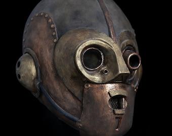 Capek Mk-I, steampunk robot mask