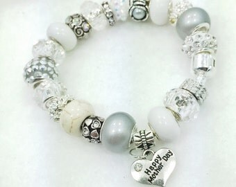 Happy Mother's Day Charm Bracelet