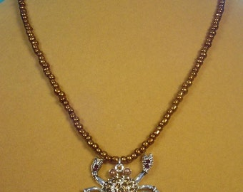 """Don't be a Crab - WEAR one on this 18"""" Necklace - N311-312"""