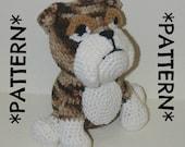 PATTERN ONLY - Crochet English Bulldog