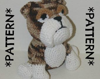 Crochet bulldog Etsy