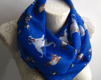 Boxer Dog Scarf, Boxer Dog İnfinity Scarf, Dog Scarf, Boxer Dog Gifts, Gift for Her
