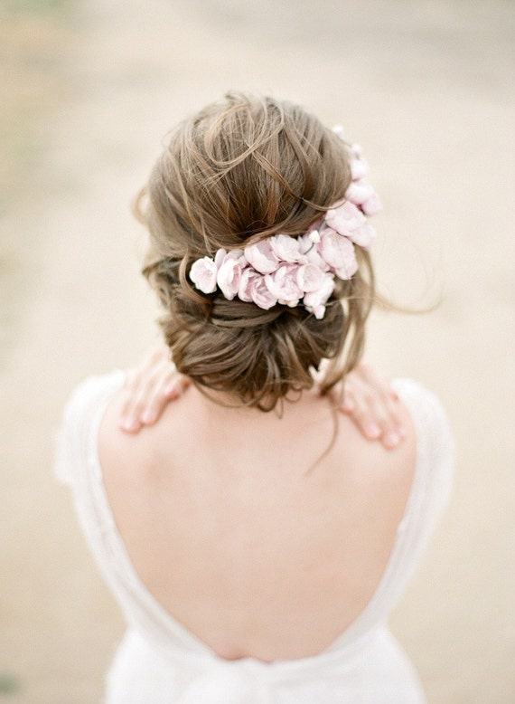SOPHIA Pink Floral Headpiece