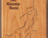 River Map Fly Box -EAST R...