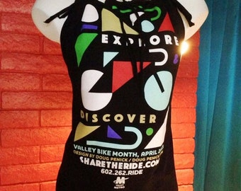 """Your Men's Tee Modified to Fabulous Ladies """"Triangle"""" Halter"""