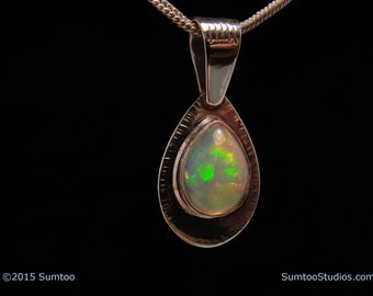 Ethiopian Opal in Argentium Sterling Silver