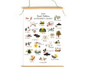 Great Outdoors Alphabet - Canvas Banner