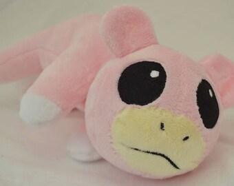 Slowpoke Pokémon Shoulderpet Minky Plush MADE TO ORDER