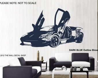 Lamborghini Murcielago Audigier - Wall Art Sticker - 2 sizes