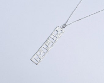 Sterling Silver Vienna Necklace / Sterling Silver Jewelry