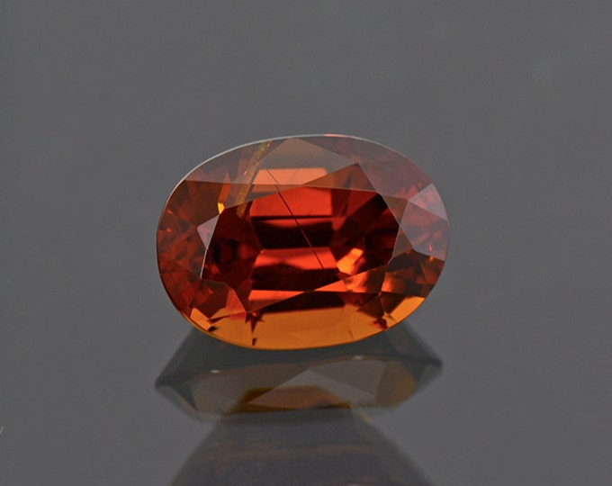 Rare Excellent Orange Pakistani Bastnasite Gemstone 3.82 cts.