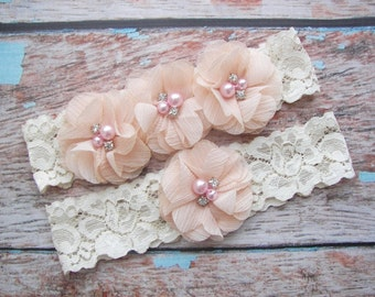 Blush Garter Set , Wedding Garter , Garter , Toss Garter , Garter Set , Bridal Garter , Wedding Garter Set