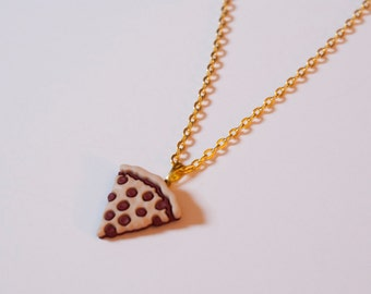 Pizza Necklace Gold / Silver