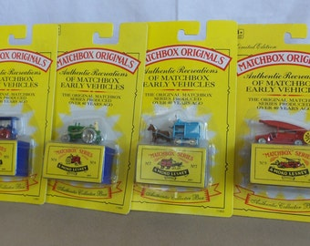 Matchbox Set of 4 Early Vehicles