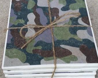 Camouflage Coasters