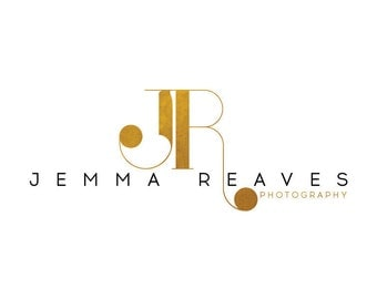 Premade Photography Logo and Watermark Design - Photography or Boutique Logo - GOLD Monogram Logo - Business Branding