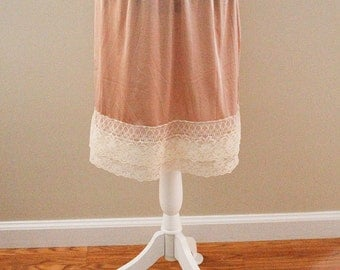 Cream Lace Skirt/Dress Extender