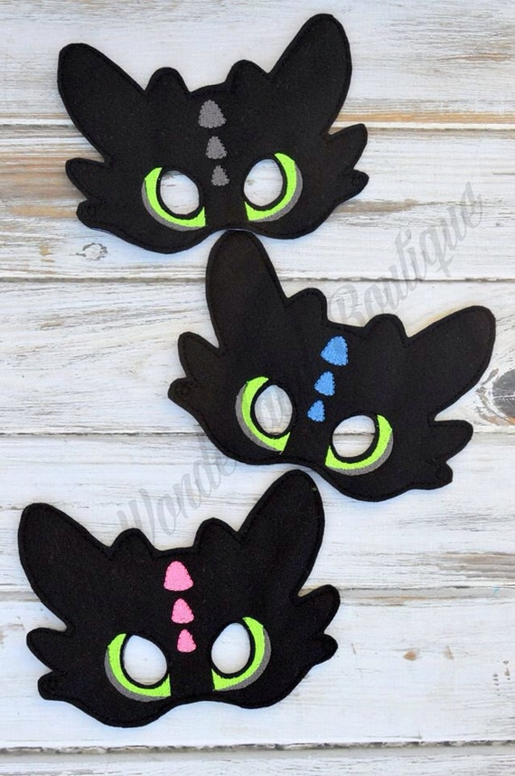 toothless dragon mask how to train dragon party birthday