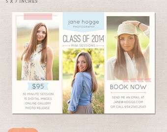 Senior photography marketing - Photography mini session Class of 2014 MG001 -  INSTANT DOWNLOAD