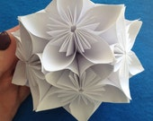 PDF Tutorial DIY Kusudama Flower Ball /Origami Paper Flower Ball for Christmas, Weddings, Bouquets & Decoration - pdf Tutorial DOWNLOAD