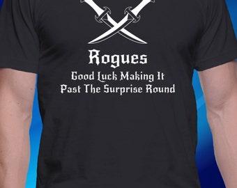 DnD Inspired Rogue T-shirt