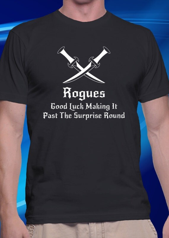 Dnd inspired rogue t shirt for Best selling t shirts on etsy