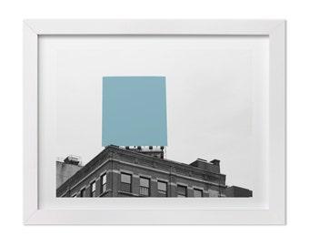 New York City Print, Contemporary Fine Art Photography, Color Block, Geometric NYC Photo, Large Wall Art, Modern Graphic Print, NYC Art