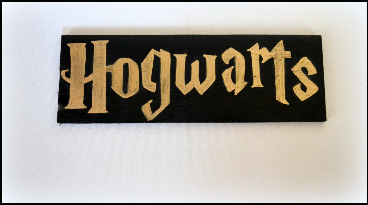 This is a photo of Persnickety Hogwarts Sign Printable
