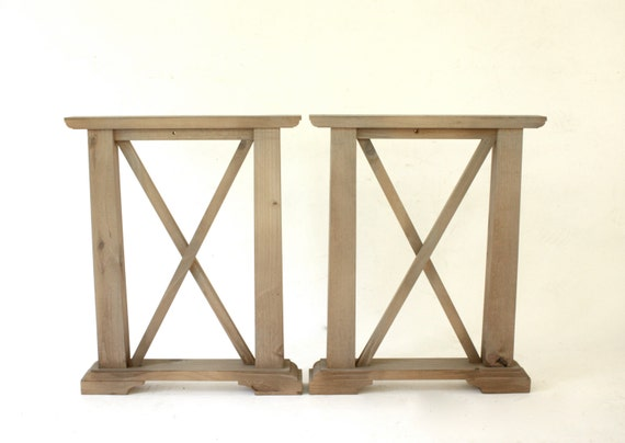 ... Furniture Legs, Reclaimed Wood Tuscan Counter-Height Table Legs on