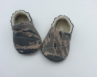 Army or Camouflage  Baby Boy Shoes.