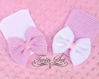 TWIN GIRL HATS, twin girl hat, twin girls, twins hats, girl twin hats, twin girls, girl twin hats, twin girl hats, twin baby girl hat, twins