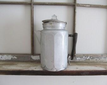 Decorative Metal Coffee Pot