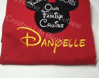 Disney Cruise Shirt - Personalized - Youth