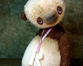 OOAK Artist Teddy Bear RADIANT PINK by Jevgeni Bulahtin
