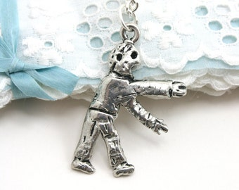 Awesome zombie necklace