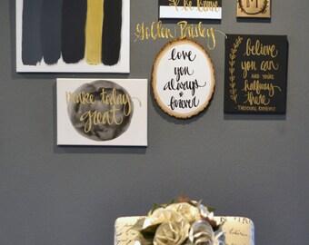 Gallery wall set | Etsy