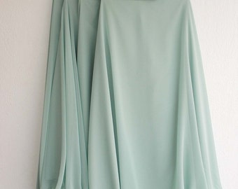 Long Chiffon Skirt Many Colors Available