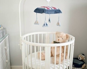 Nautical nursery sailboat nursery baby girl baby boy nautical room decor nautical kid room anchor wall decor nautical baby decor whale decor