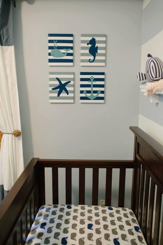 Baby Nash S Vintage Nautical Nursery: Nautical Nursery Nautical Baby Girl Nautical Baby Boy Whale