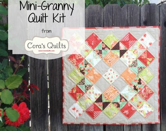 Mini Granny Quilt Kit by Cora's Quilts