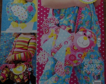 Animal Shaped Purses For Tots Pattern,ellie mae designs from Kwik Sew
