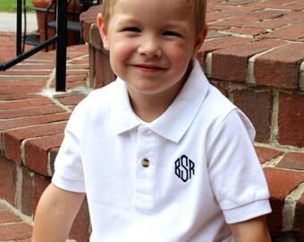 Boys | Children's Monogrammed Polo