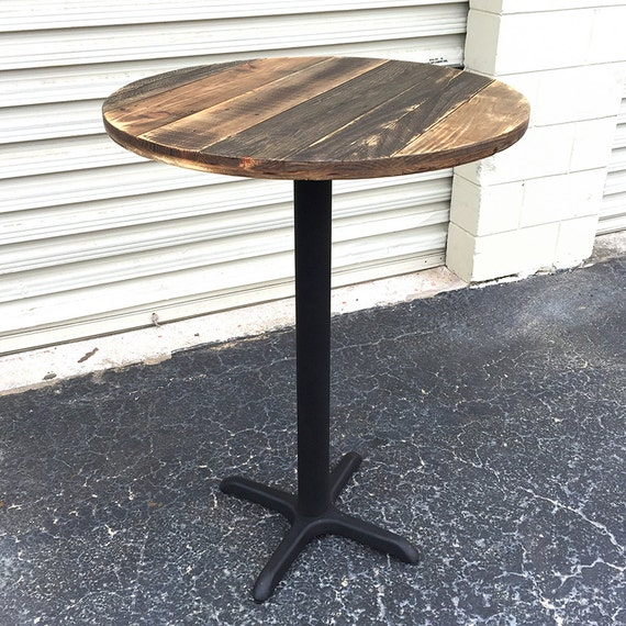 FREE SHIPPING Reclaimed Wood Round Bar by SibusFurnitureDecor : il570xN760264283lc37 from etsy.com size 570 x 570 jpeg 115kB