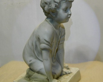 Vintage Youth Figurine