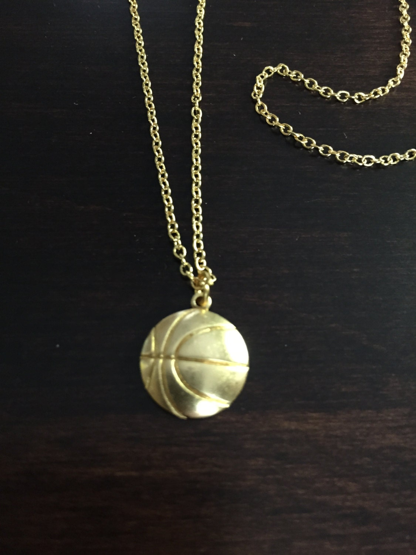basketball necklace basketball gold basketball necklace