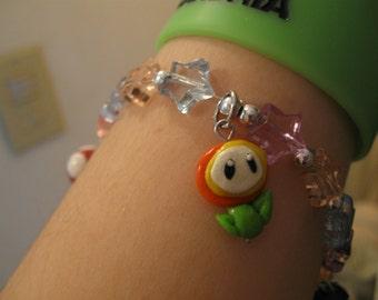 Super Mario Bros. Charm Bracelet