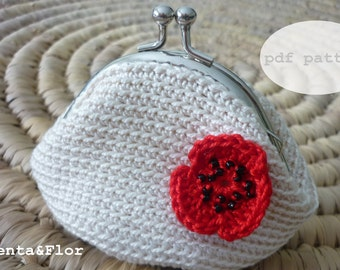 Pattern: Crochet Coin Purse N.10