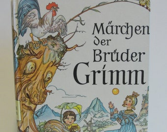 1985 Tales of Brothers Grimm in German Printed in Germany